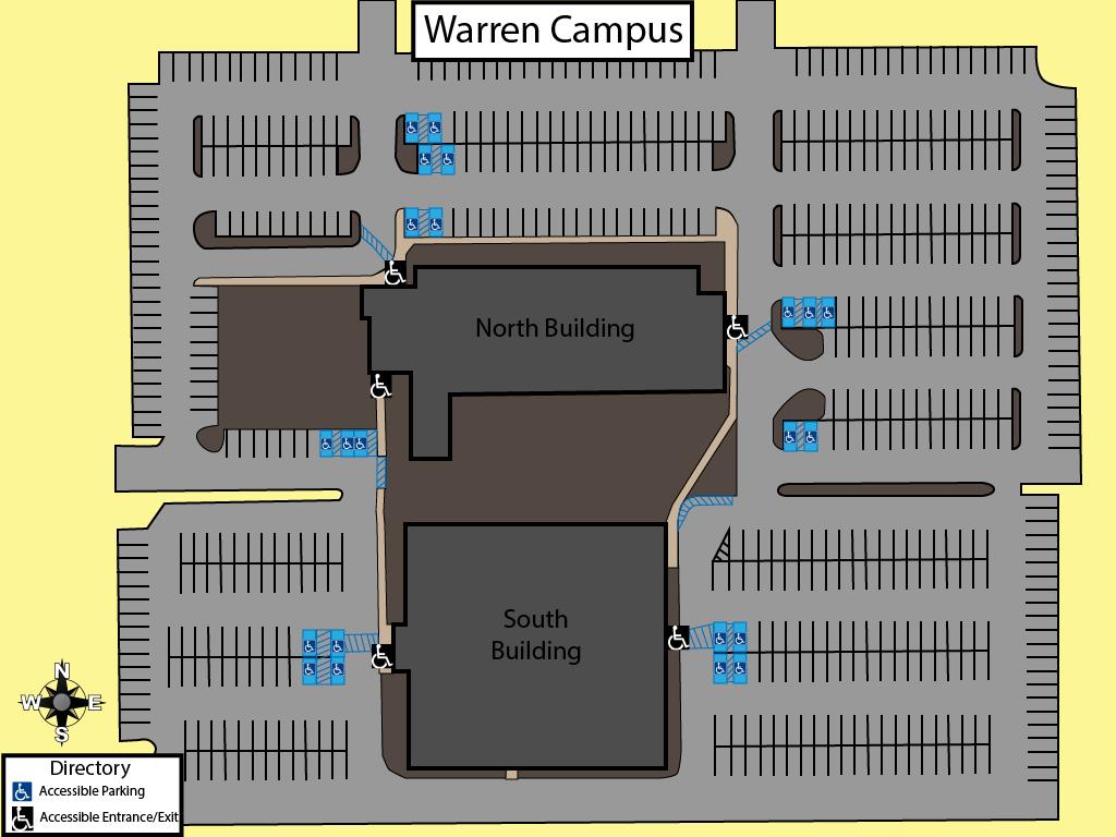 Accessibility Map   Davenport University on