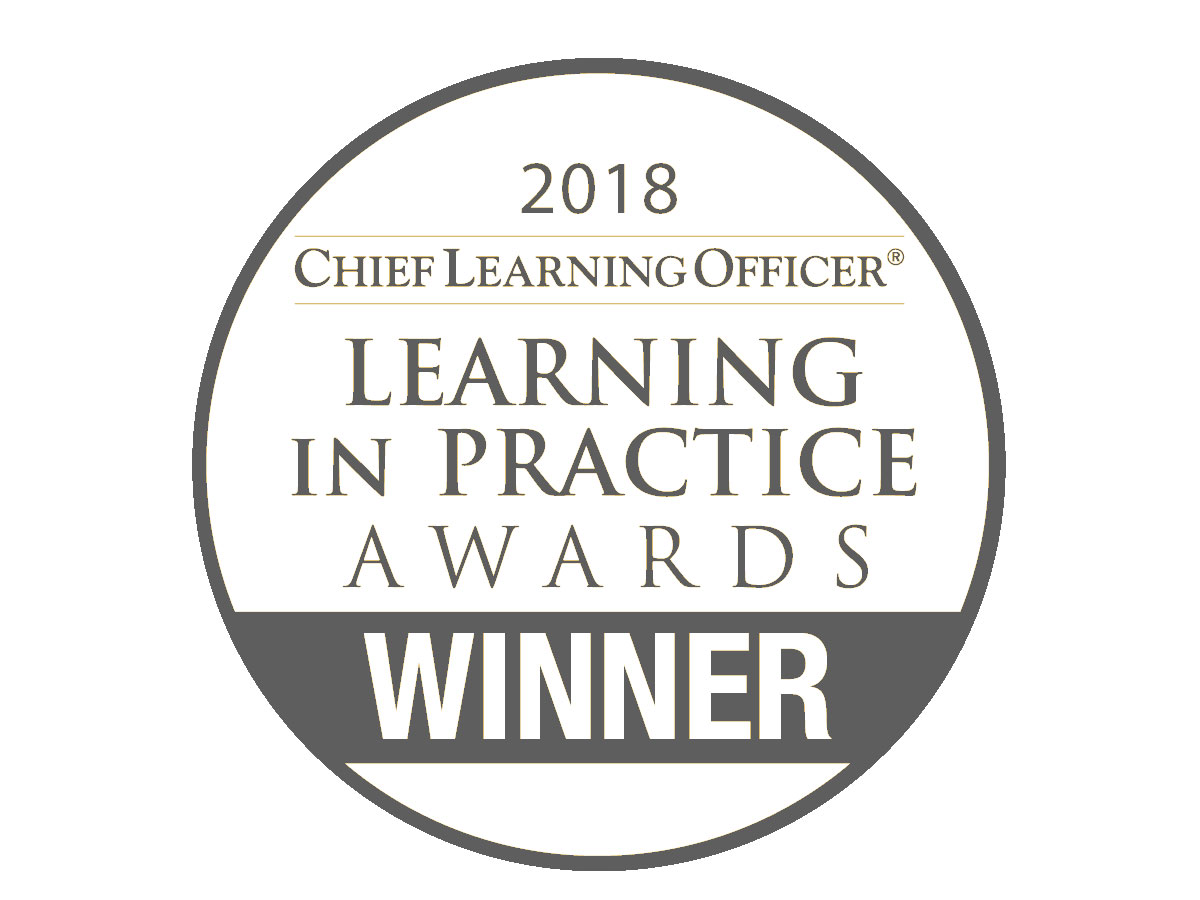 2018 Learning in Practice Award Winner