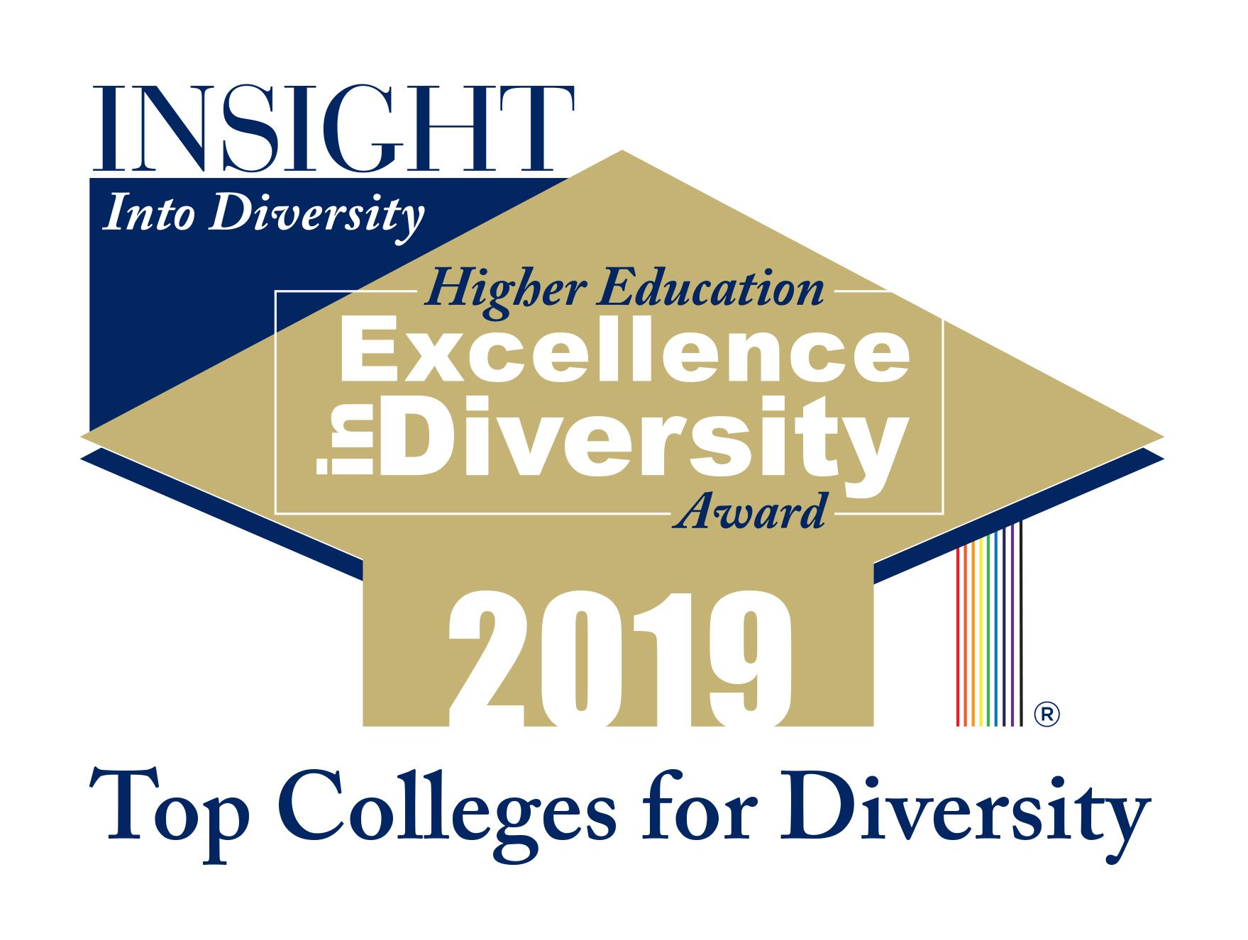2019 Insight into Diversity Award Logo