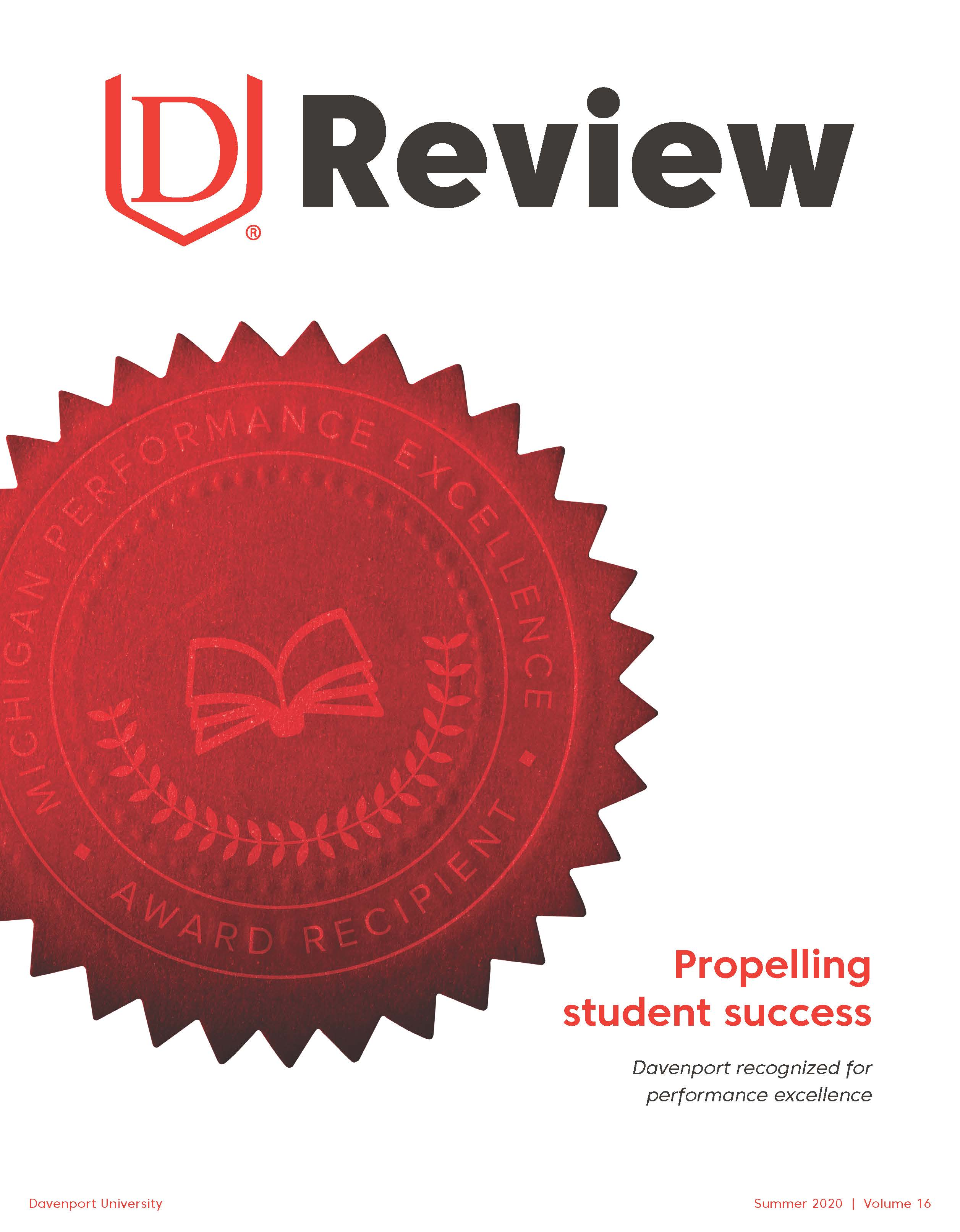 DU Review Summer 2020 Cover