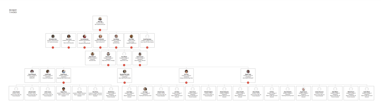CoH Org chart